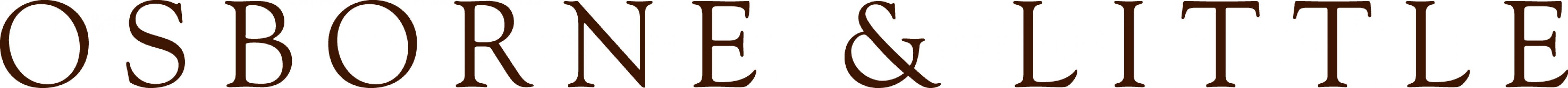 Osborne & Little logotyp